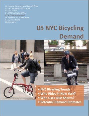 05: New York City Bicycling Demand - NYC.gov