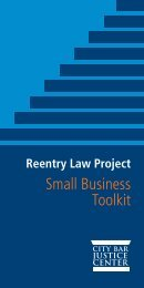 Small Business Toolkit - New York City Bar Association