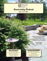 Homecoming Weekend - New York Chiropractic College