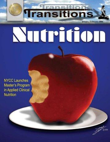 January - February 2006 (PDF Version) - New York Chiropractic ...