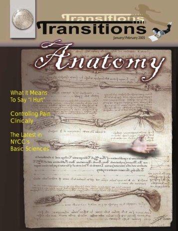January - February 2005 (PDF Version) - New York Chiropractic ...
