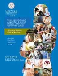 Academic Excellence. Professional Success. - New York ...