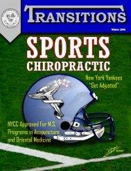 Get Adjusted - New York Chiropractic College