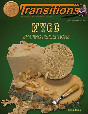 February 2008 (PDF Version) - New York Chiropractic College