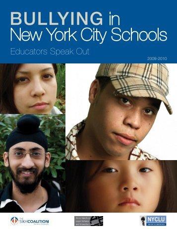 Bullying in New York City Schools - Asian American Legal Defense ...