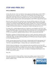 NYPD Stop-and-Frisk Activity in 2012 - New York Civil Liberties Union