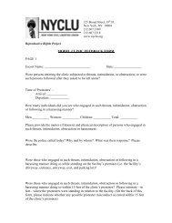 Model Clinic Feedback Form (PDF)