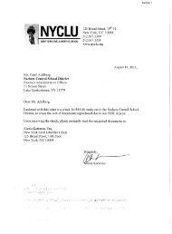 What is Health? - New York Civil Liberties Union