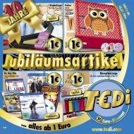 TEDi - Jubiläumsartikel - 30.04.2014 - AT
