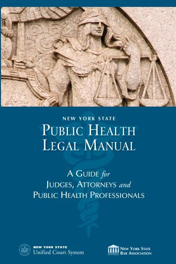 New York State Public Health Legal Manual - Unified Court System