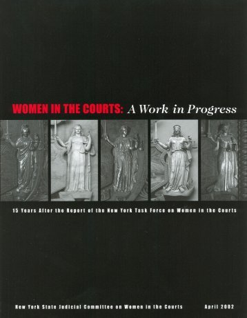 Women in the Courts - Unified Court System
