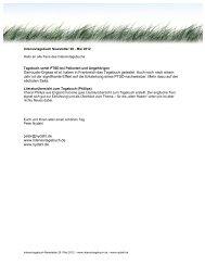 Intensivtagebuch Newsletter 28 - nydahl.de