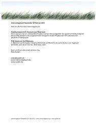 Intensivtagebuch Newsletter 26 - nydahl.de