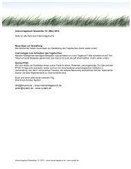 dirk@knueck.de – www.intensivtagebuch.de peter@nydahl.de ...