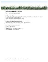 Intensivtagebuch Newsletter 12 - nydahl.de