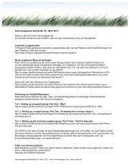 Intensivtagebuch Newsletter35 - nydahl.de