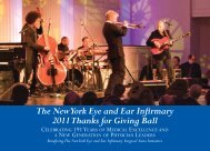 Download the Invitation (PDF) - New York Eye and Ear Infirmary