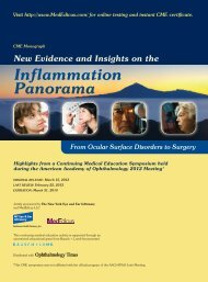 Inflammation Panorama - New York Eye and Ear Infirmary