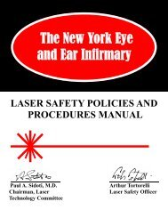 Safety Manual Cover revised.pub - New York Eye and Ear Infirmary