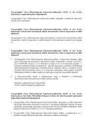 Nyergesújfalu Város Önkormányzati Képviselő-testületének 1/2013 ...