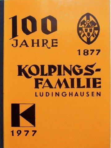Kolpingsfamilie Luedinghausen 100 Jahre (1977)