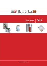 1 - CENTRALI DI ALLARME - Elettronica3B