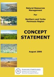 Concept Statement - Northern and Yorke Natural Resources ...