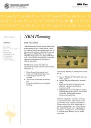 NRM Planning - Northern and Yorke Natural Resources ...