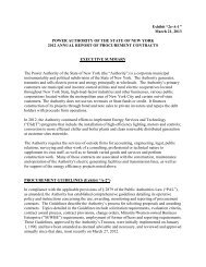Exhibit - New York Power Authority
