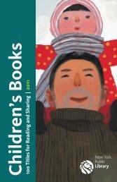 Children's Books 100 Titles for R - New York Public Library