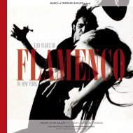Brochure for 100 Years of Flamenco in New York - New York Public ...