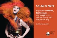 SciLAB @ NYPL - New York Public Library