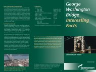 George Washington Bridge Interesting Facts - New York Public Library