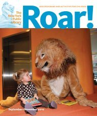 Roar! - New York Public Library