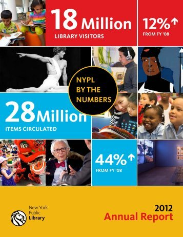 FY 2012 Highlights - New York Public Library