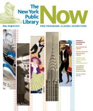 May–August 2012 - New York Public Library