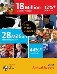 Download the Full Report (pdf) - New York Public Library