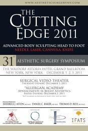 aesthetic surgery symposium - New York Plastic Surgery Foundation