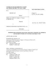 Gowan v. Xerion Partners II Master - Southern District of New York