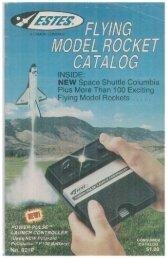 Download 1982 Catalog - Estes Rockets