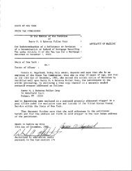 STATE OF NEW YORK STATE TAX COMMISSION In the Barry M ...