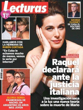 Revista Lecturas 07-05-2014