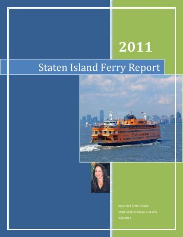 Staten Island Ferry Report - New York State Senate