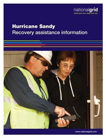 Hurricane Sandy - New York State Senate
