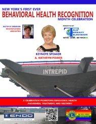 Behavioral Health Recognition Month Celebration - New York State ...