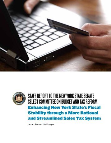 SalesTax Report - New York State Senate