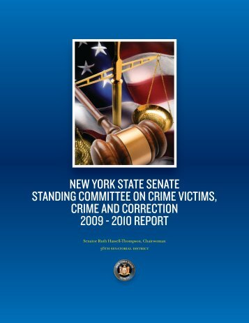 Crime Committee Report e.indd - New York State Senate