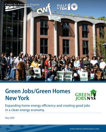 Green Jobs/Green Homes New York - Center for American Progress