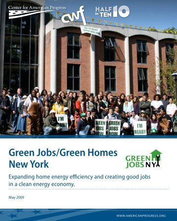 Green Jobs/Green Homes New York - Center for American Progress