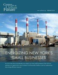 Energizing New York's Small Businesses - New York State Senate